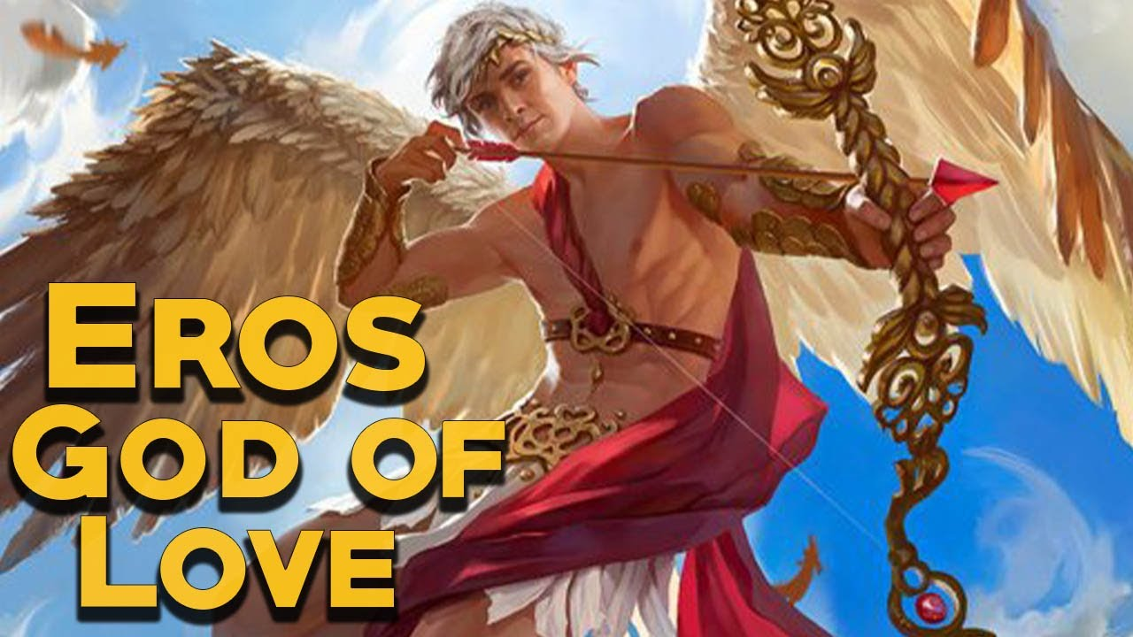 Download Eros: The God of Love and Passion - The Olympians - Greek Mythology Stories - See U in History