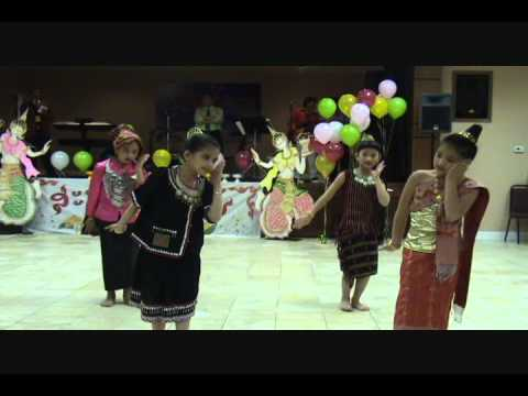 Lao tribe dance