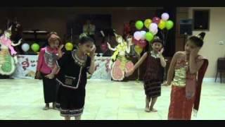 Lao tribe dance