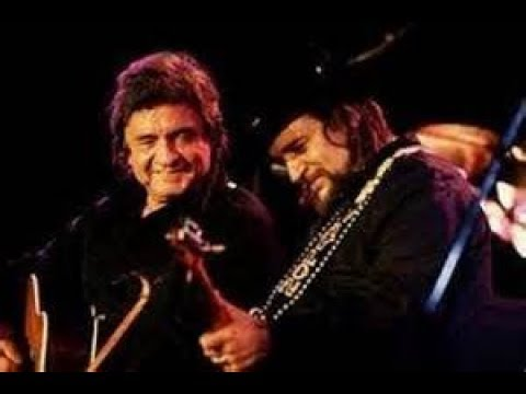 Waylon Jennings and Johnny Cash's Greatest Duets-American By Birth...