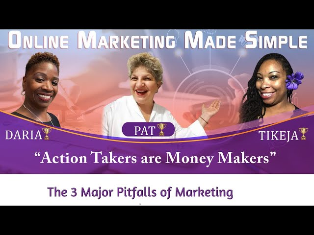 How To Avoid The 3 Pitfalls To Success Online