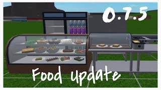 New Food Update On Bloxburg