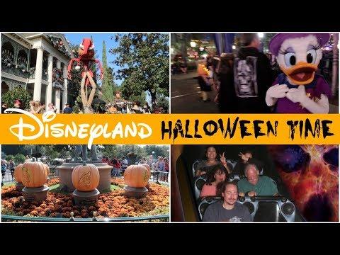 DISNEYLAND HALLOWEEN TIME DAY 1 - October 13, 2017