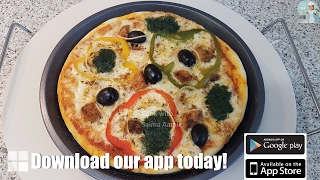 Pizza Without Oven اوون کے بغیر پیزا / Cook With Saima