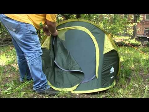Быстросборная палатка Trek Planet Moment 2