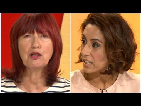 Loose Women's Saira Khan says Janet Street Porter should 'give her CBE back' as they have spat ov...