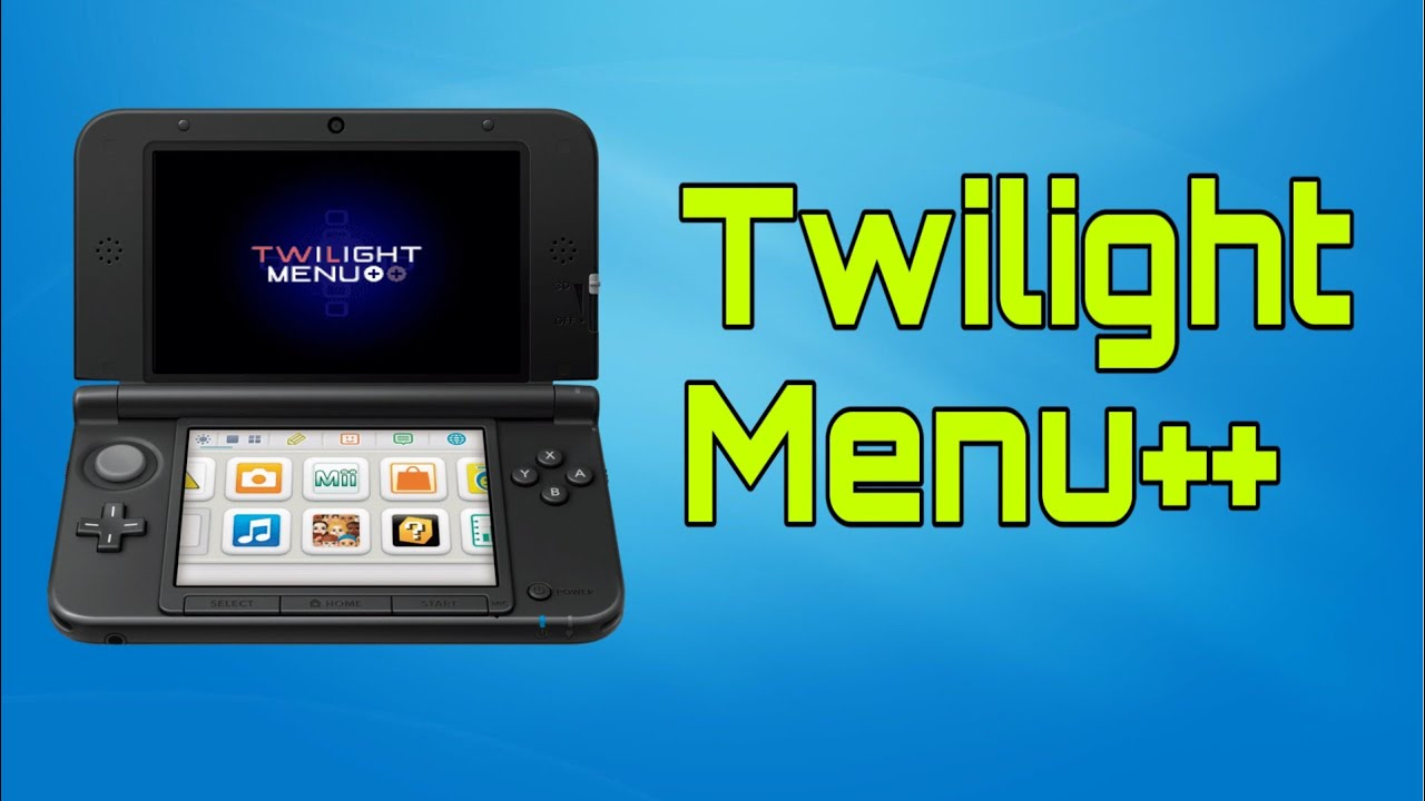 How to install and use Twilight Menu++  A DS