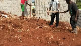 My Jamaican dream house Part 1 Foundation ( Building a house in Manchester Jamaica )