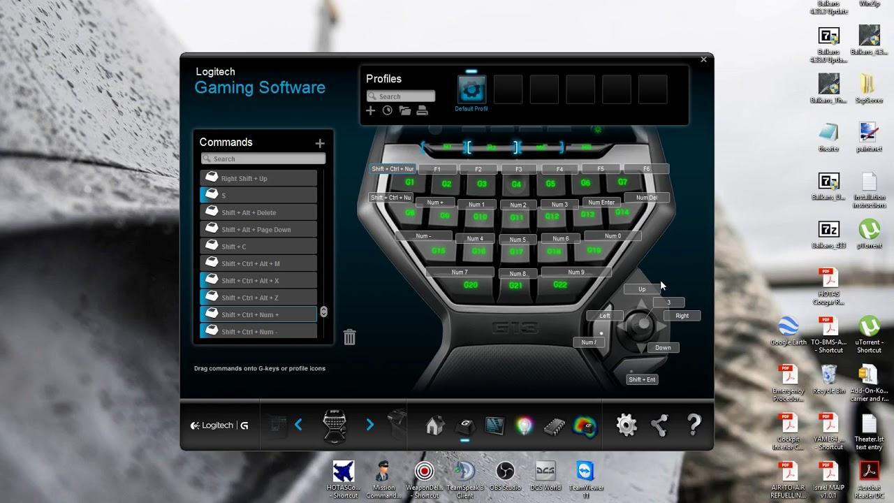 G13 setup for F4 BMS 4.33.3 - YouTube