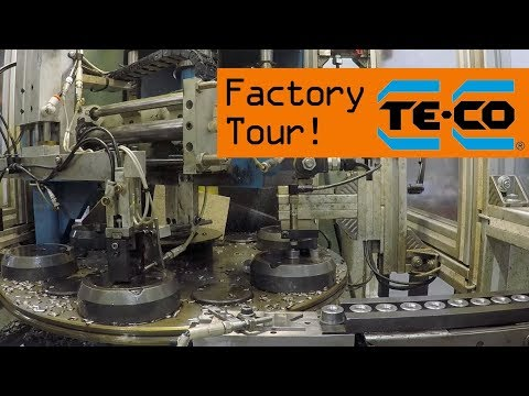 AWESOME TE-CO Workholding Factory Tour!