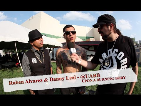UPON A BURNING BODY: NEW Album, Danny Leal's Publicity Stunt & Message for Fans!