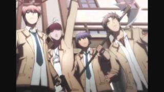 Angel Beats op (My Soul, Your Beats) Male ROCK Version full + lyrics
