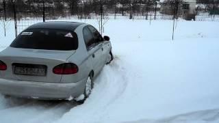 Ланос И Снег! Nokian Hakkapeliitta 7
