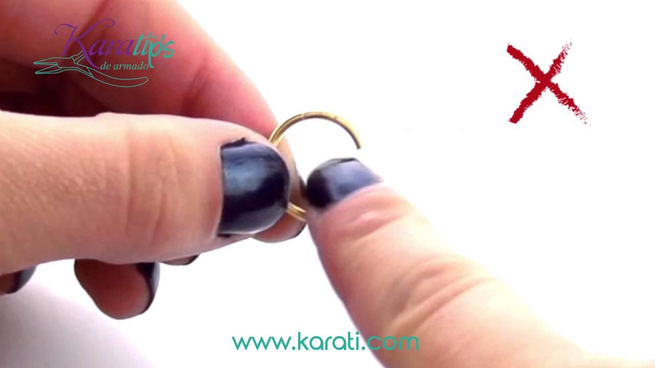 d0d09707b882 Como abrir una Argolla - Karatips - YouTube