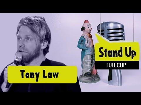 Tony Law |  Russell Howard's Good News |  FULL CLIP