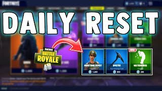 NEW WATERWORKS EMOTE & MUNITION EXPERT SKIN - Fortnite Daily Reset & NEW Items in Item Shop