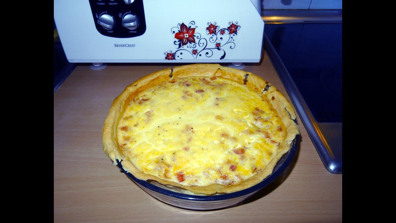 Receta de quiches lorraine monsieur cuisine lidl for Silvercrest monsieur cuisine