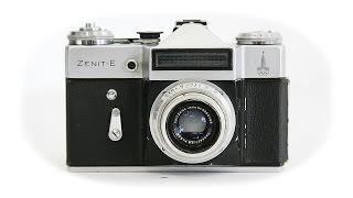 Обзор Фотоаппарат Зенит-Е СССР 1971 год