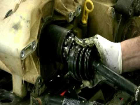 video of how to change cv joint on 500 polaris