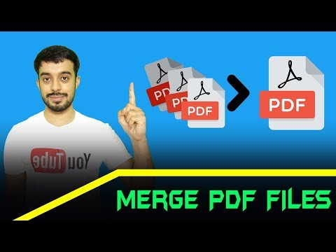 How To Merge Pdf Files | Combine Pdf Files Online