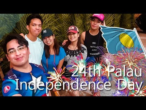 Travel, People, Daily: 24th Palau National Independence Day