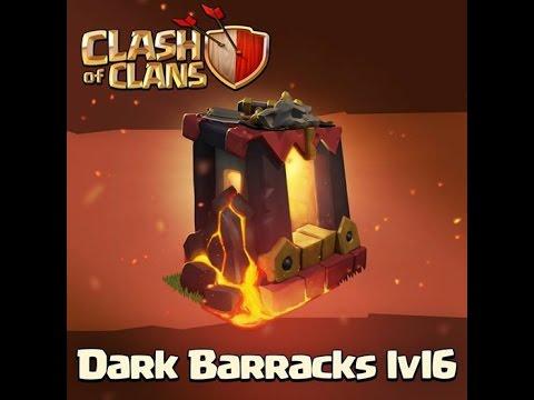 Clash of Clans Update - Dark Barracks Level 6! Sneak Peek!
