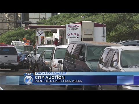 Tow company says city auctions cannot keep up with abandoned vehicles