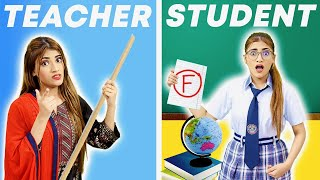 Teacher Vs. Student : School Life | SAMREEN ALI