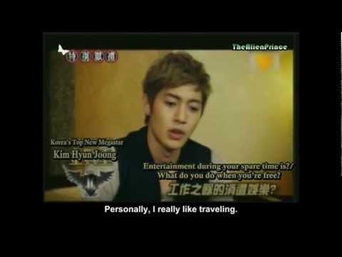 [11.10.01] Channel [V] - KHJ's Psychological Test + Interview (Eng Sub)