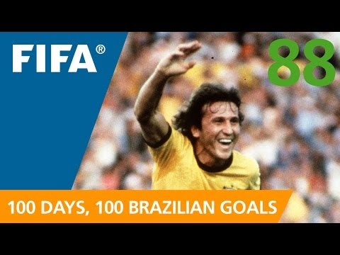 100 Great Brazilian Goals: #88 Zico (Spain 1982)