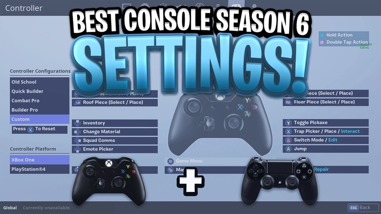 fortnite custom controller settings edit fast best controls - fortnite xbox one steuerung