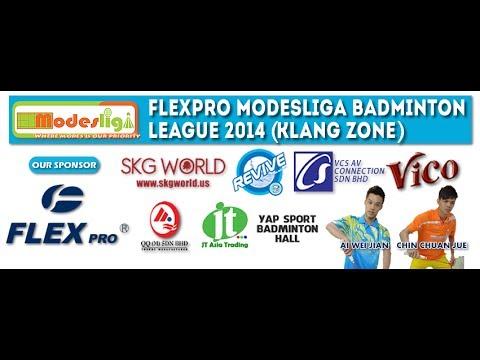FlexPro Modesliga 2014 (Klang Zone) Match Day 3 Assassin VS Racqueteer