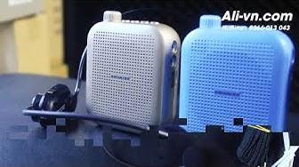 Máy trợ giảng không dây Sunrise SM 919 có Bluetooth