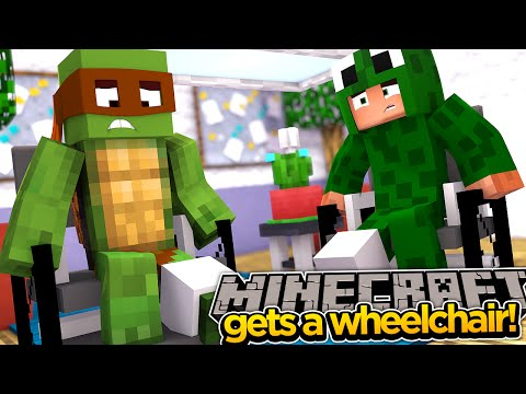 Minecraft Adventure - WE GET SOME WHEELCHAIRS!!