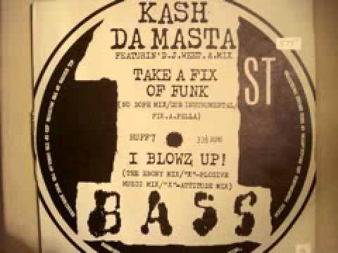 """Kash Da Masta """"Take A Fix Of Funk"""" (Dub) 1990"""