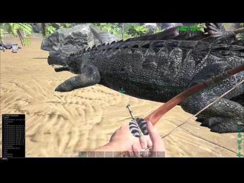how to show damage in ark