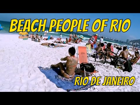 Walking in Ipanema Beach | Girls of Ipanema | Walking in Rio #105