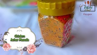 Homemade Chicken Achar/Achar Gosht Masala Recipe || How To Make Chicken Achar Masala || Desi Chef