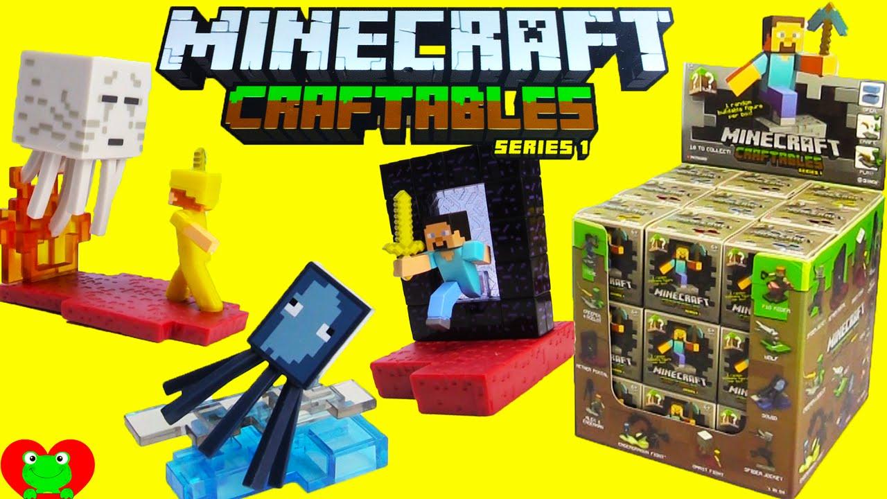 Minecraft Craftables Series 1 Puzzle Blind Box