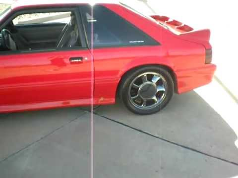 1993 Cobra Black Chrome Wheels Youtube