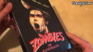 Dawn of the Dead | Zombies im Kaufhaus VHS | GMT (Bootleg) [Ger]