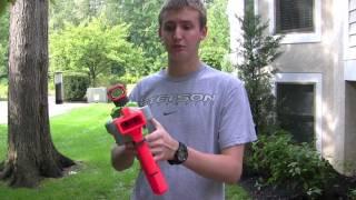 [FIRING TEST] Nerf Vortex Blasters - Range Test