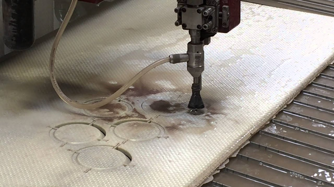 5-Axis CNC Water Jet Cutting Services at Waco Composites!