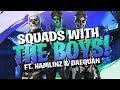 TSM SQUADS UP! HILARIOUS GAME FT. DAEQUAN & HAMLINZ (Fortnite BR Full Match)