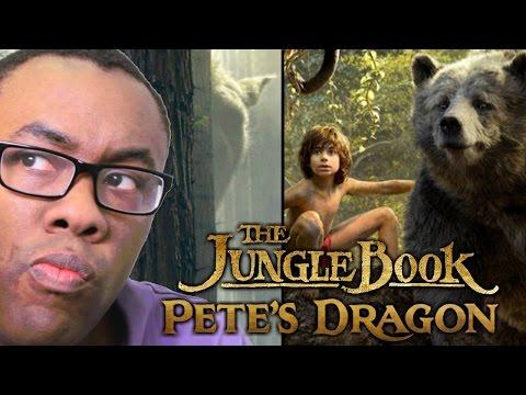 JUNGLE BOOK & PETE'S DRAGON 2016 Trailer REVIEW