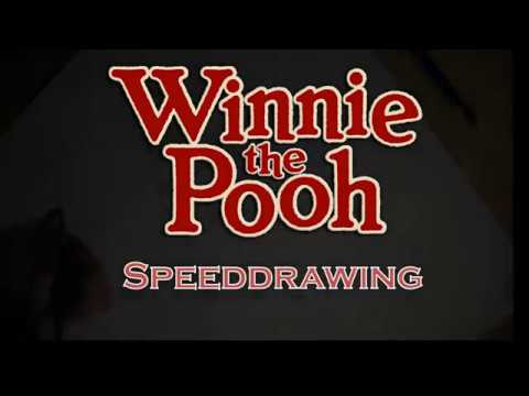 Disney Speed drawing - Winnie The Pooh and co.