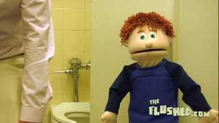 Elliot's Toilet Training Adventures: Stall Peeing