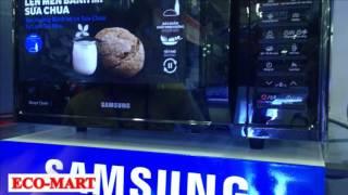 Cách sử dụng Lò vi sóng tráng men Samsung MC28H5015AK dòng đối lưu 28L