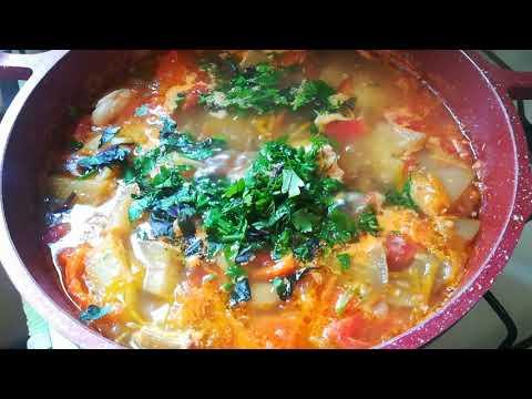 Осенний суп из баклажанов / Влюбилась в него с первой ложки
