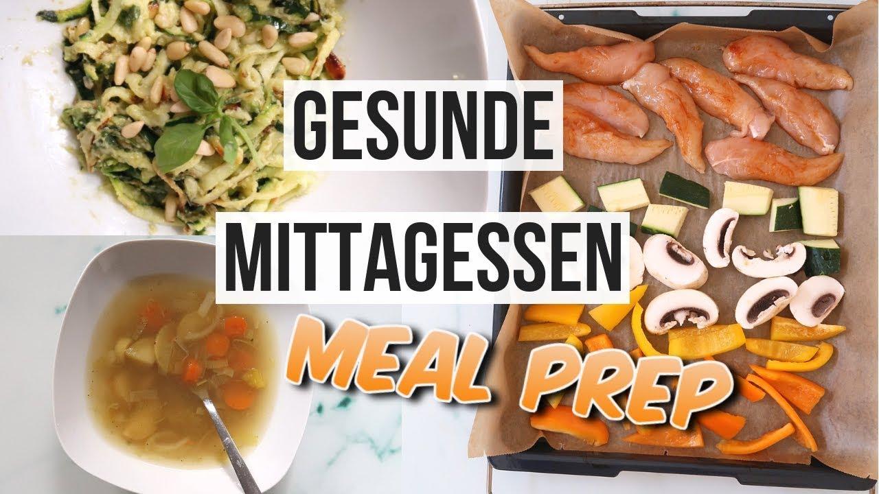 Gesunde Einfache Mittagessen Zum Abnehmen I Meal Prep I Leckere